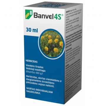 Banvel 4S 30ml, Herbicidas
