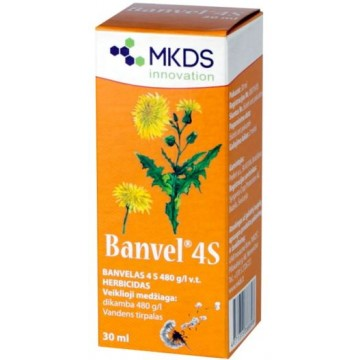 BANVEL 4S HERBICIDAS (30 ML)